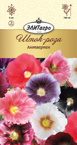 Семена Шток-роза Антверпен смесь, мнг
