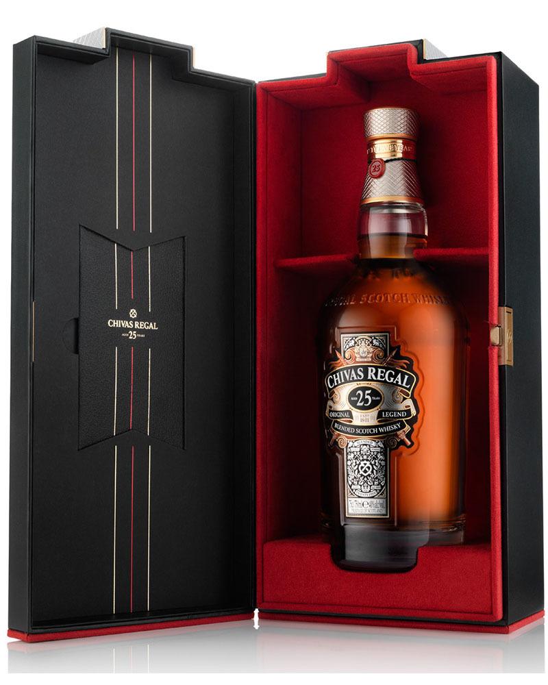 Виски Chivas Regal 25 лет 40%, 0,7 л