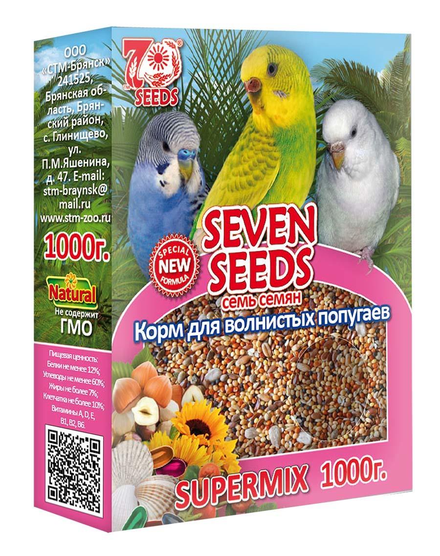 Корм Корм для волнистых попугаев Seven Seeds Supermix 39.jpg