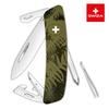 Швейцарский нож SWIZA C04 Camouflage, 95 мм, 11 функций, хаки