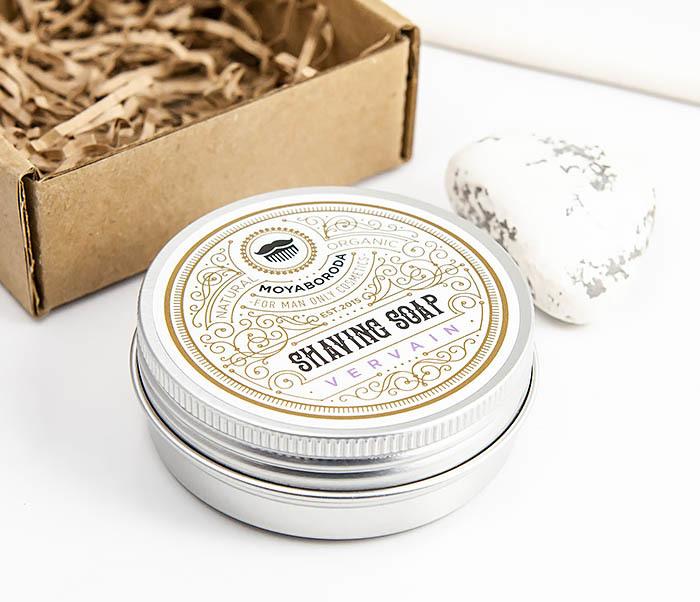 RAZ207-1 Натуральное мыло для бритья «VERVAIN», лимонная вербена (60гр) фото 04
