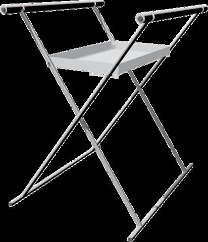 Стенд Х-образный двойной 06.401-9007 Ferrum