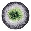 Пряжа YarnArt Flowers 291 (Зелень,фисташка,молоко,графит)