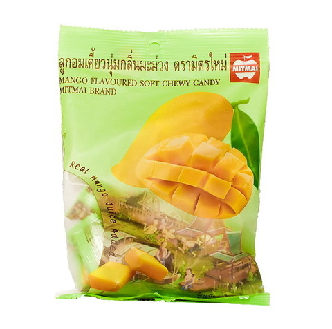 Жевательные тайские конфеты MITMAI со вкусом манго (MitMai Mango soft)