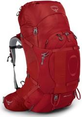 Рюкзак женский туристический Osprey Ariel Plus 70 Carnelian Red