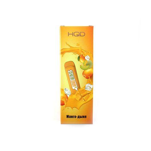 Одноразовая электронная сигарета HQD MEGA 2% - Mango Melon (Манго Дыня)