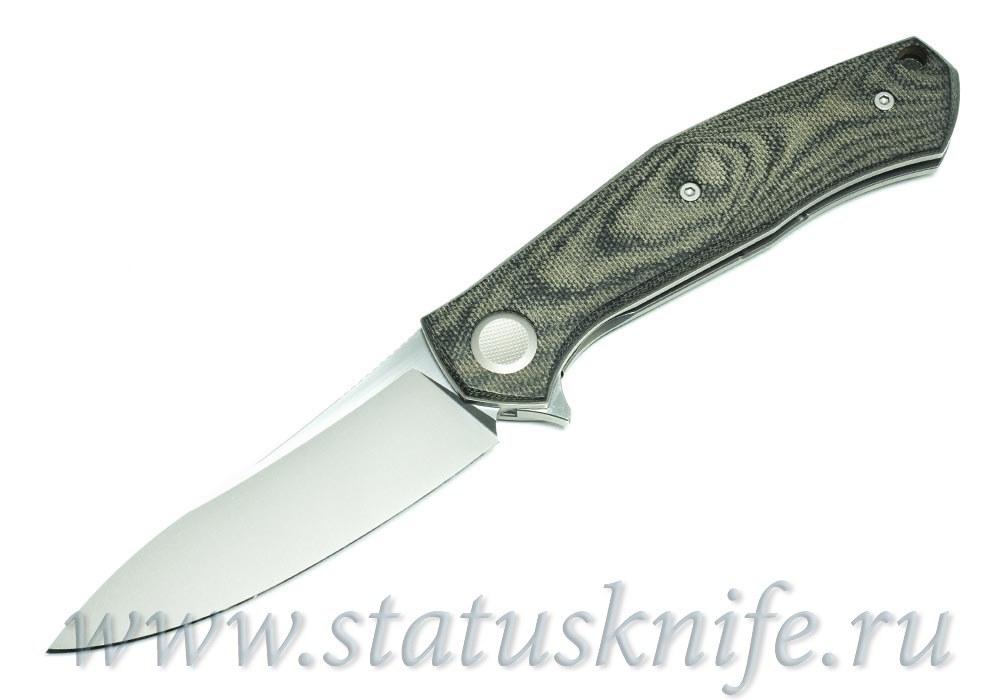 Нож Широгоров Cannabis TNK M390 SIDIS дизайн - фотография