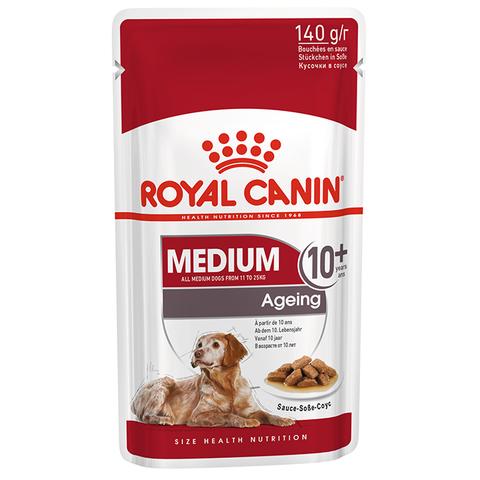 ROYAL CANIN Консервы в соусе для пожилых собак средних пород старше 10 лет MEDIUM Ageing 10+