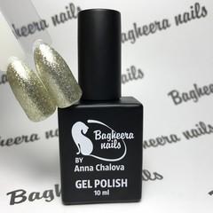 Bagheera Nails BN-33 Эффект фольги (благородное золото) 10 мл