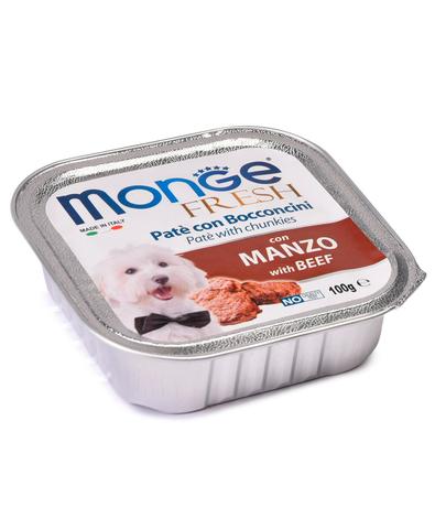Monge Dog Fresh консервы для собак (говядина) 100г