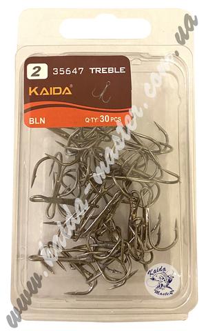 Крючки тройники Kaida №2