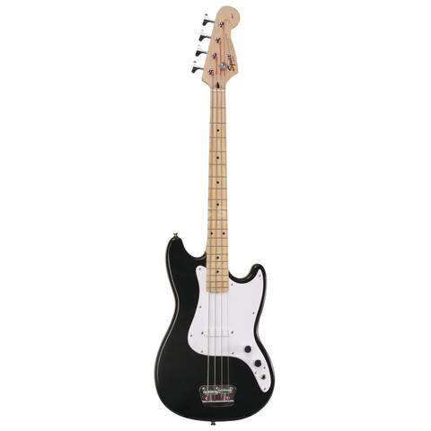 FENDER SQUIER AFFINITY BRONCO BASS MN BLACK Бас-гитара