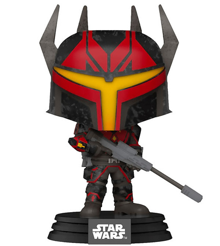 Фигурка Funko POP! Bobble: Star Wars: Clone Wars: Gar Saxon 52024