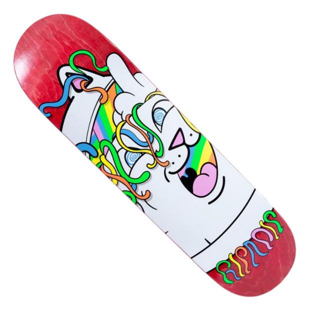 Дека для скейтборда RIPNDIP Acid Playdo (Red)