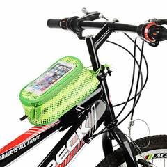 Велосипедная сумка на раму с отделением под смартфон Roswheel Trier(Бирюзовый) L 121024LMH-B - 2