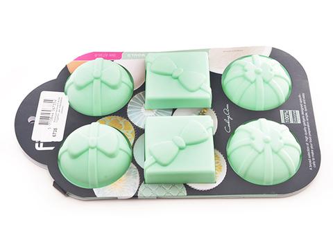 """6735 FISSMAN Форма для выпечки """"Подарки"""" 28x17,5x4 см,  купить"""