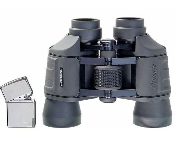 Бинокль Veber Classic БПШЦ 8x40 VRWA широкоугольный, серый - фото 2