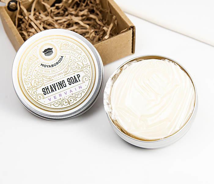 RAZ207-1 Натуральное мыло для бритья «VERVAIN», лимонная вербена (60гр) фото 05