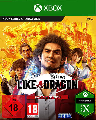 Yakuza: Like a Dragon. Day Ichi Steelbook Edition (Xbox, английская версия)