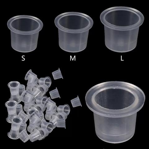Колпачки для пигментов 100 шт размер M