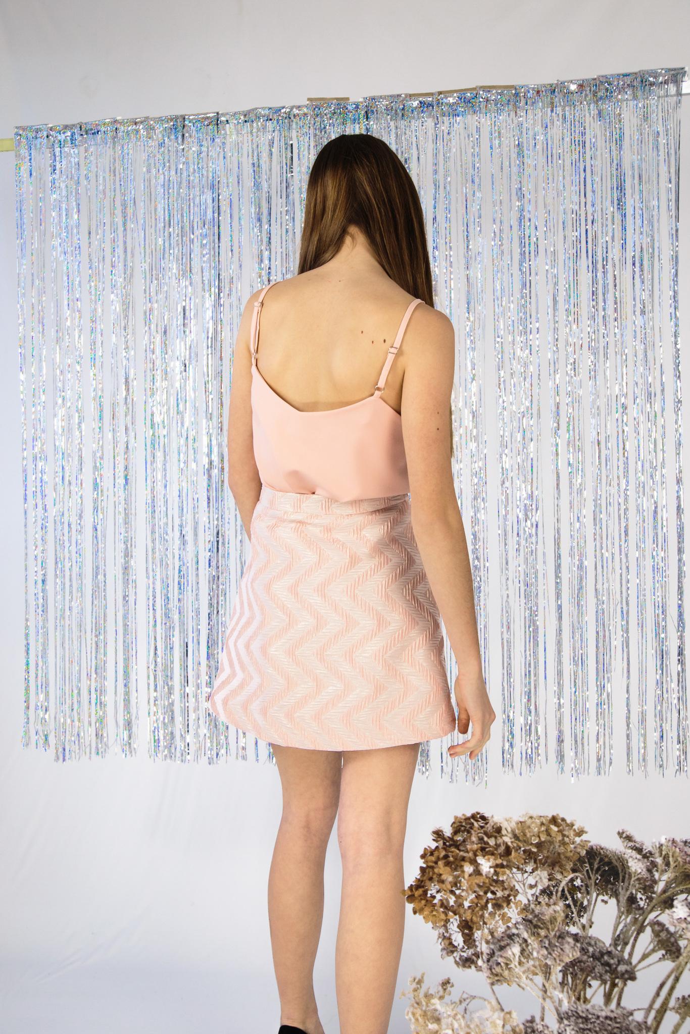 Мини юбка нарядная