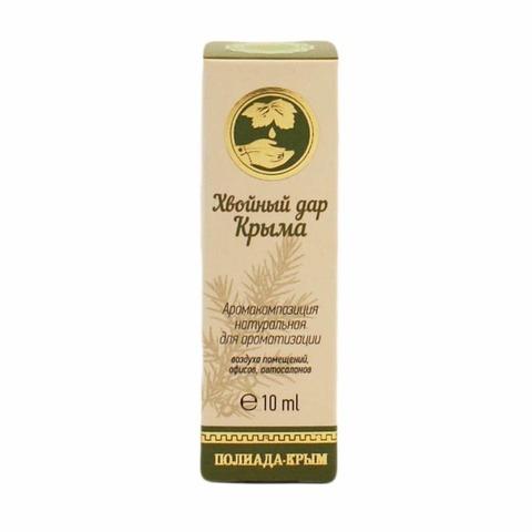 Освежитель воздуха натуральный с маслом сосны «Хвойный дар Крыма»