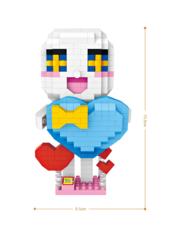 Конструктор LOZ Зодиак Водолей с сердцем 370 деталей NO. 9571 Aquarius with a heart Zodiac Sign Series