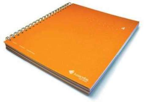 Three Subject Notebook – блокнот для Livescribe Pulse Smartpen (Orange) (№ 4)