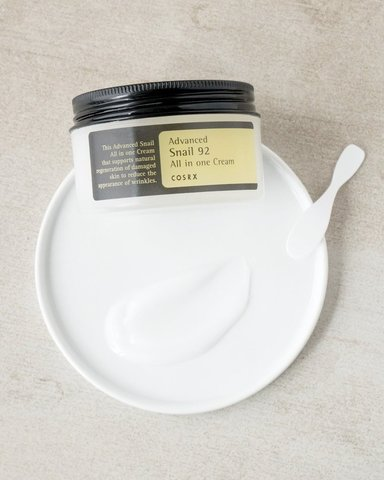 Крем с 92% муцина улитки, 100 г / Cosrx Advanced Snail 92 All in One Cream