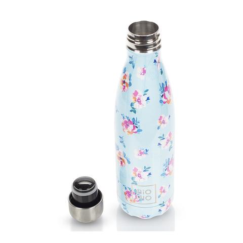 Бутылка-термос металлическая Цветы 0,5 л
