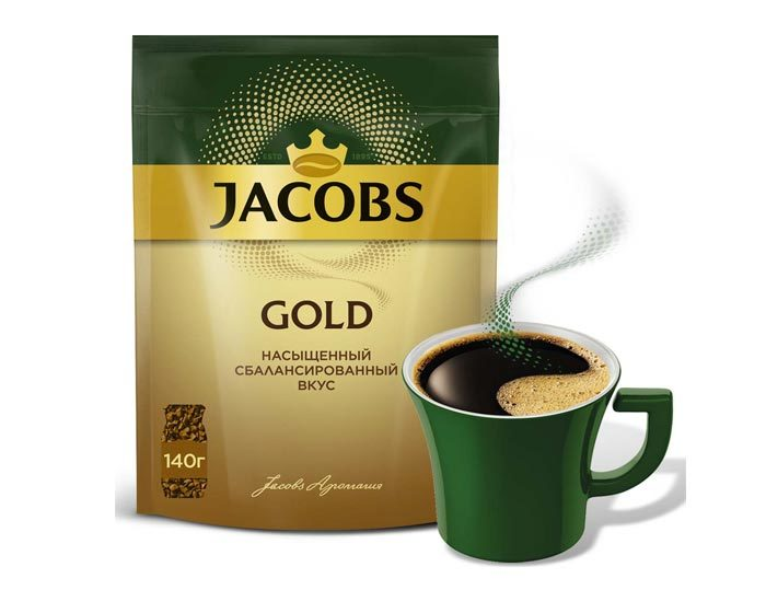 Jacobs Gold, 140 г