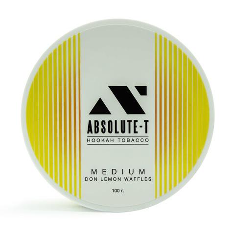 Табак Absolute-T Med Don Lemon Waffles (Лимонные вафли) 100 г