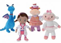 Доктор Плюшева мягкие игрушки в ассортименте