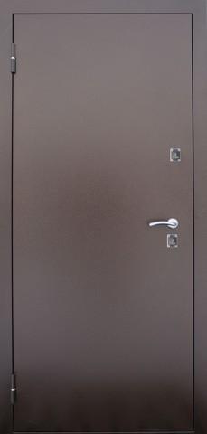 Дверь входная Термо стальная, венге, 2 замка, фабрика Алмаз