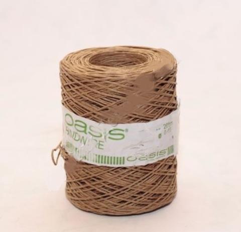 Проволока с бумажным покрытием 0.4 мм 205 м натуральная