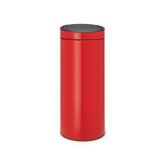 Мусорный бак Touch Bin New (30 л), Пламенно-красный