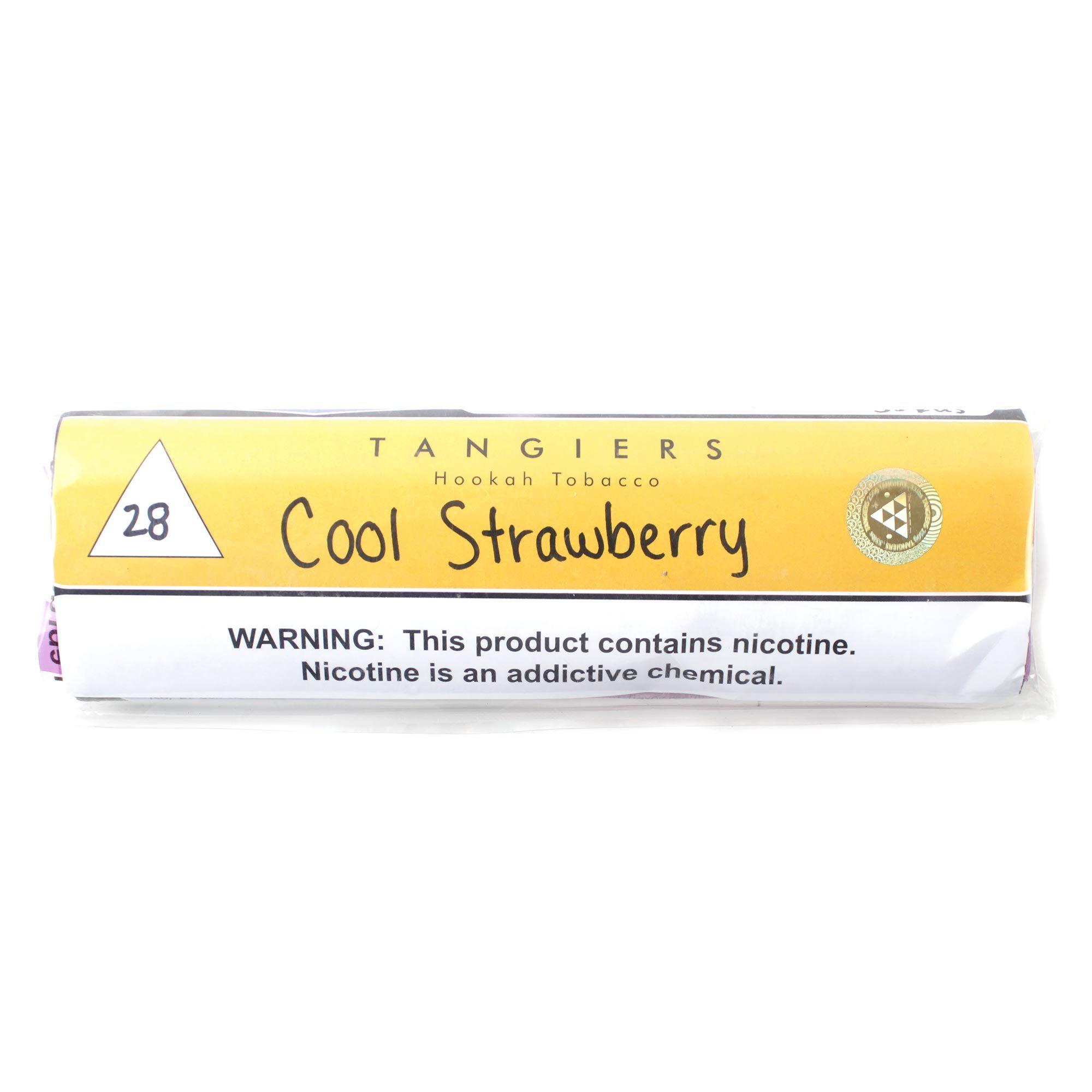 Табак для кальяна Tangiers Noir (желтый) 28 Cool Strawberry 250 гр