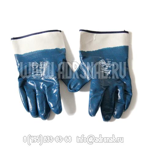 Перчатки нитриловые, краги
