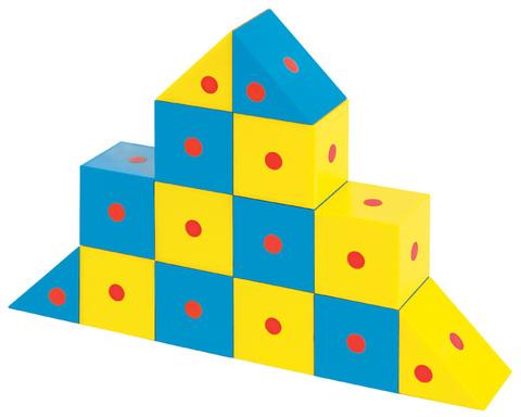 Набор Полидрон Магнитные блоки 3D (комплект на группу, 48 деталей) 4-6 лет