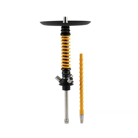 Mamay Customs Coilovers Mini Black-Dark Yellow Hookah