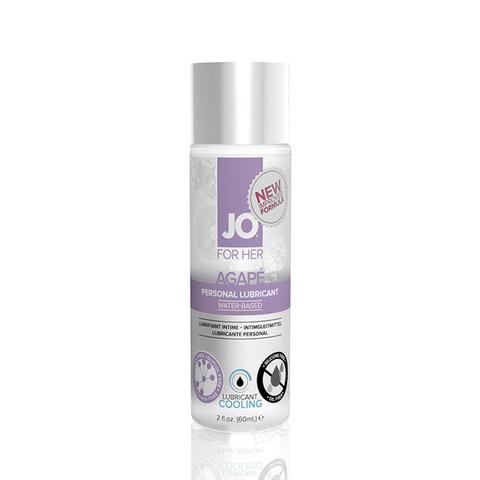 JO AGAPE COOLING, 60 ml Легкий гипоаллергенный лубрикант с охлаждающим эффектом