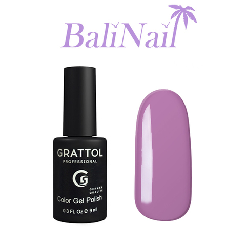 Grattol Color Gel Polish Lavender - гель-лак 040, 9 мл