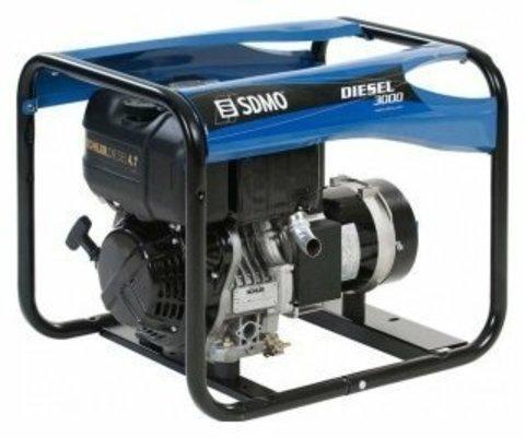 Кожух для дизельного генератора SDMO Diesel 3000 (2400 Вт)