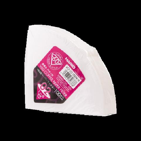 Фильтры бумажные для воронок HARIO (100 шт)