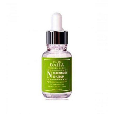 Cos De BAHA Сыворотка противовоспалительная для жирной кожи - Niacinamide 10 serum, 30мл