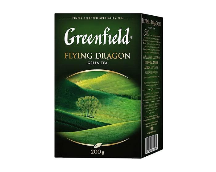 купить Чай зеленый листовой Greenfield Flying Dragon, 200 г
