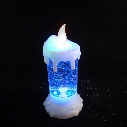 Декор свеча  мультиколор