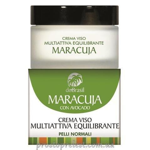 Dobrasil crema viso multiattiva equilibrante maracuja - Мультиактивный крем для лица с маслом маракуйи