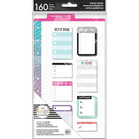 Закладки-стикеры Create 365 Happy Planner Sticky Notes  -Remember -160шт