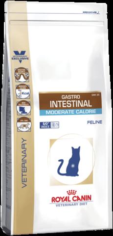 Royal Canin Gastro Intestinal Moderate Calorie GIM35 для кошек с умеренным содержанием энергии